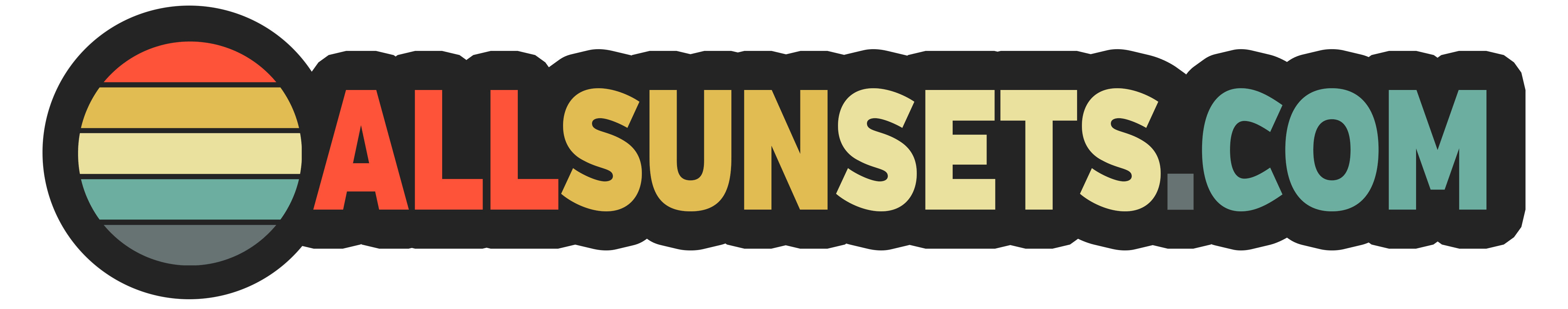 Original sunset or retro graphics for you to download
